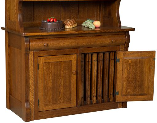Flanders Pull Out Table With Hutch Countryside Amish
