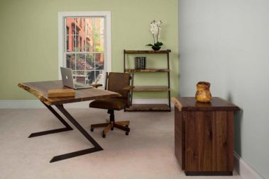 Rustic & Live Edge Office Furniture