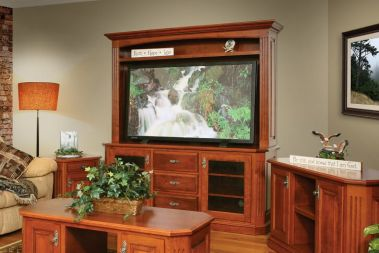 Traditional Entertainment Centers