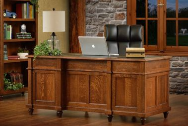 Amish Desks Solid Wood On