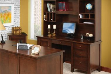 Office Desks with Hutch