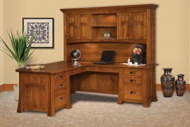 solid oak office desk. l-shaped desks solid oak office desk