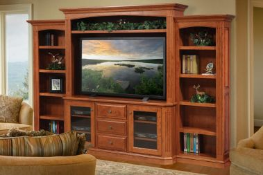 Custom Home Entertainment Centers From Countryside Amish Furniture