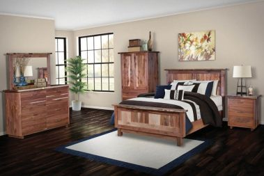 Walnut Bedroom Furniture Amish Walnut Wood Bedroom Furniture Countryside