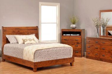 Cherry Bedroom Furniture | Amish Cherry Wood Bedroom ...