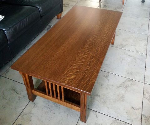 Southwestern Coffee Table with Flawless Finish