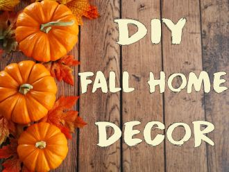 DIY Fall Dining Room Decor