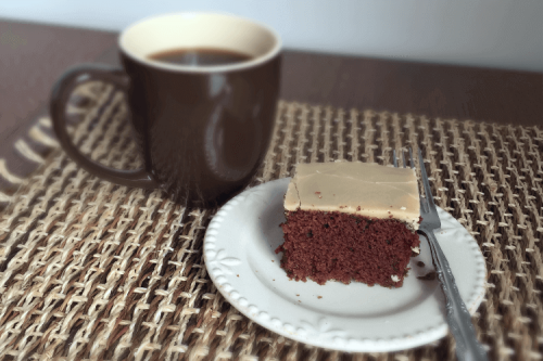 Amish Chocolate Cake Recipe with Caramel Icing