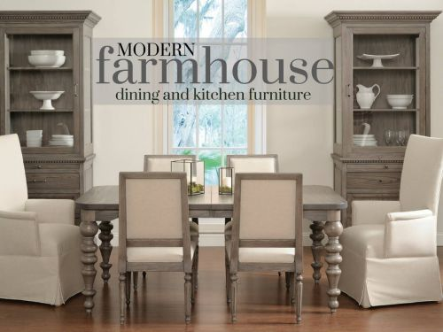 Modern Farmhouse Dining and Kitchen Furniture