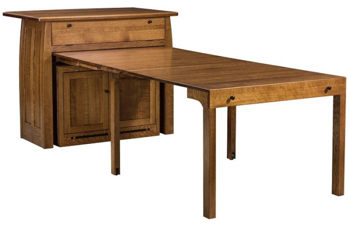 Pull Out Dining Tables E Saving By Countryside