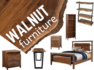 Walnut Wood Amish Furniture