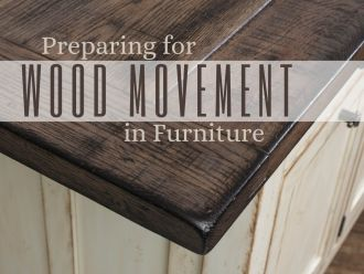 Wood Movement in Fine Amish Furniture