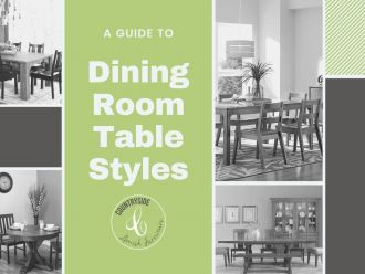 A Guide to Dining Room Table Styles