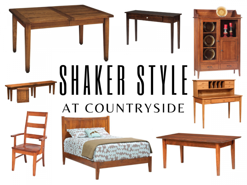 Learn About Shaker Style Furniture, Shaker Inspired Furniture