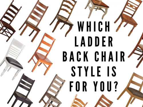 Which Ladder Back Chair Style Is for You