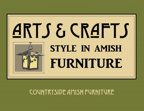 Arts & Crafts Style in Amish Furniture