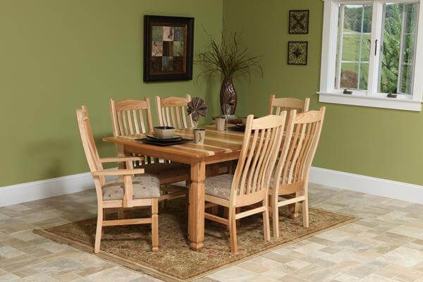 selecting your wood - countryside amish furniture