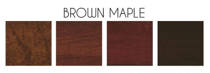 Differences Between Maple And Brown Maple - Amish Furniture