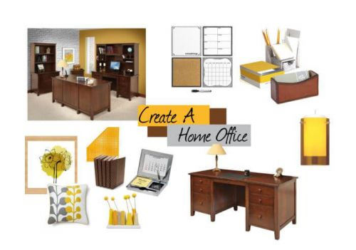 Arrange, Design, Inspire: How to Create a Home Office