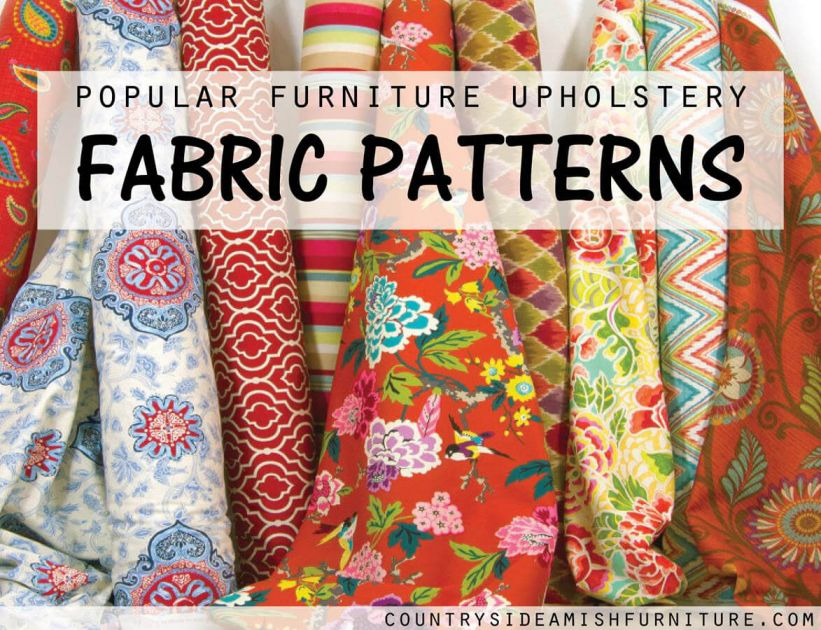 Fabric Pattern Selection Guide Fine Furniture Upholstery