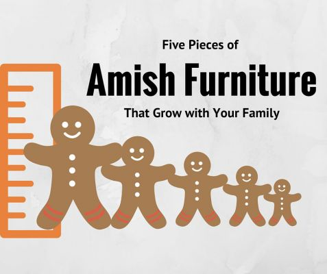 Five Pieces of Amish Furniture that Grow With Your Family