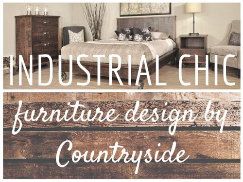 Blend Modern Chic Style With Old World Amish Craftsmanship.
