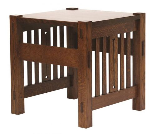 Pictured: Sandy Creek Mission End Table
