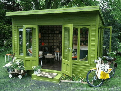 How to Furnish your She Shed