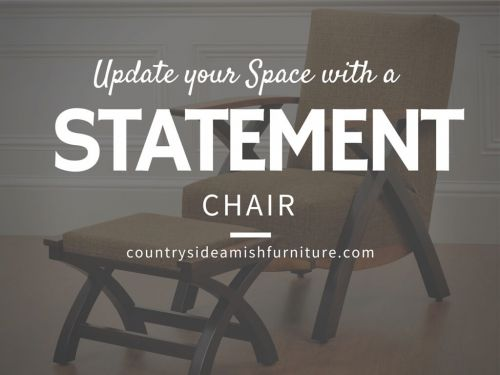 Update Your Space with a Statement Chair