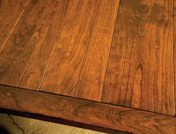 The Appearance Is Not Discernably Different, But The Longevity Of Your  Solid Wood Table Is Better Assured Using This Method. It Is Important To  Note That ...