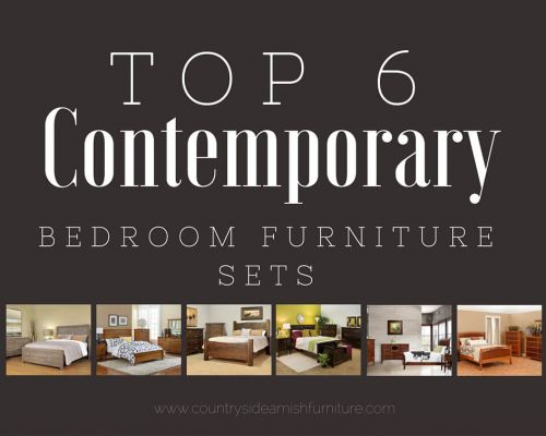 Top 6 Contemporary Bedroom Furniture Sets