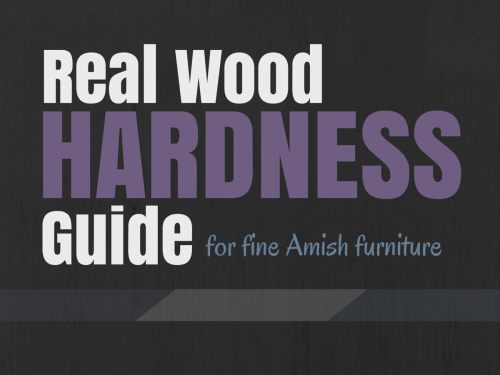 Real Wood Hardness Guide