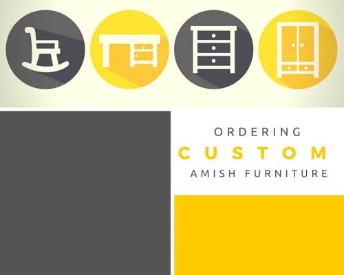 Ordering Custom Amish Furniture – The Design Process