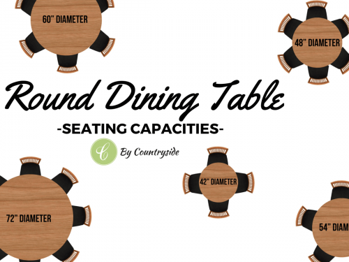 Round Dining Table Seating Recommendations