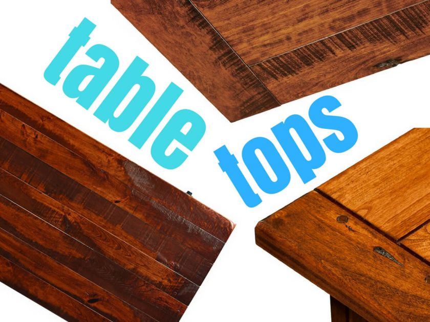 Dining Table Tops Expansion And Planks Countryside Amish Furniture - Prefab wood table tops