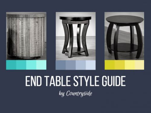 Solid Wood End Table Style Guide