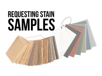 Requesting Complimentary Stain Samples