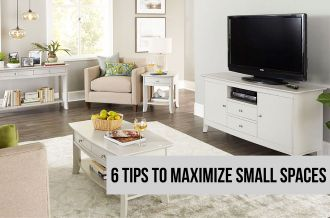 6 Ways to Maximize Small Living Spaces