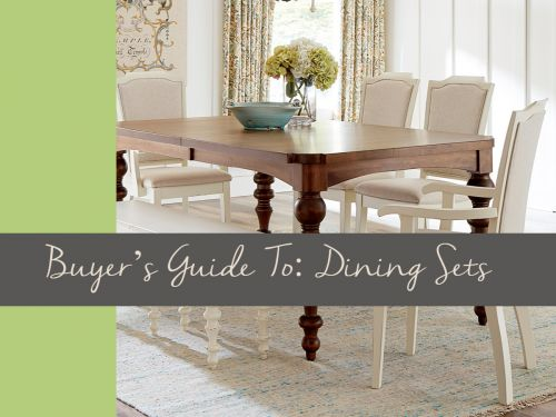Buyer's Guide To: Dining Sets