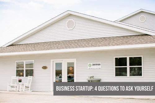 Business Startup: 4 Questions to Ask Yourself