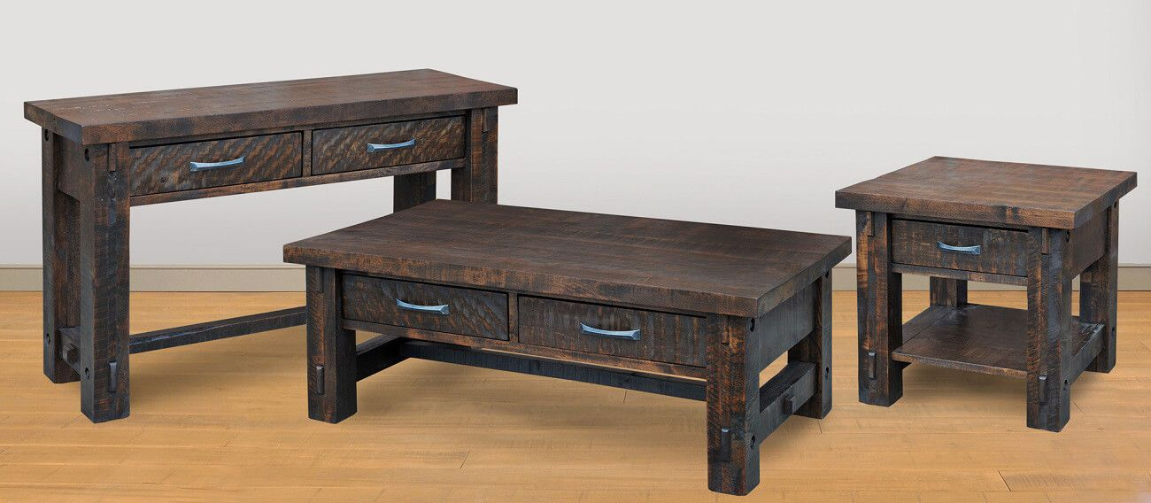 Lakemont Primitive End Table - Countryside Amish Furniture