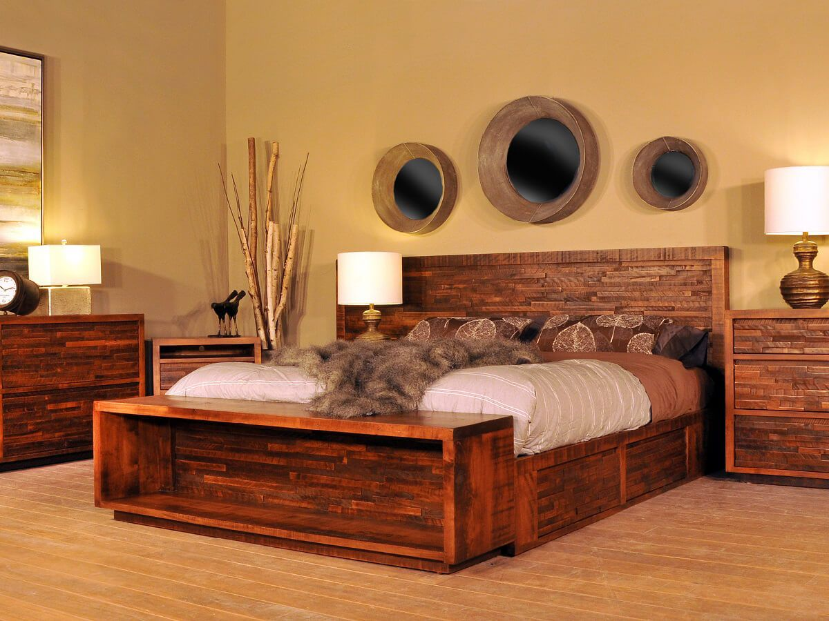 Rough Sawn Bedroom Furniture