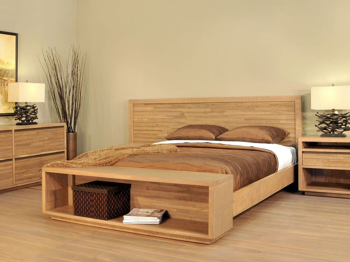 Ansley Park Bedroom Set in Natural