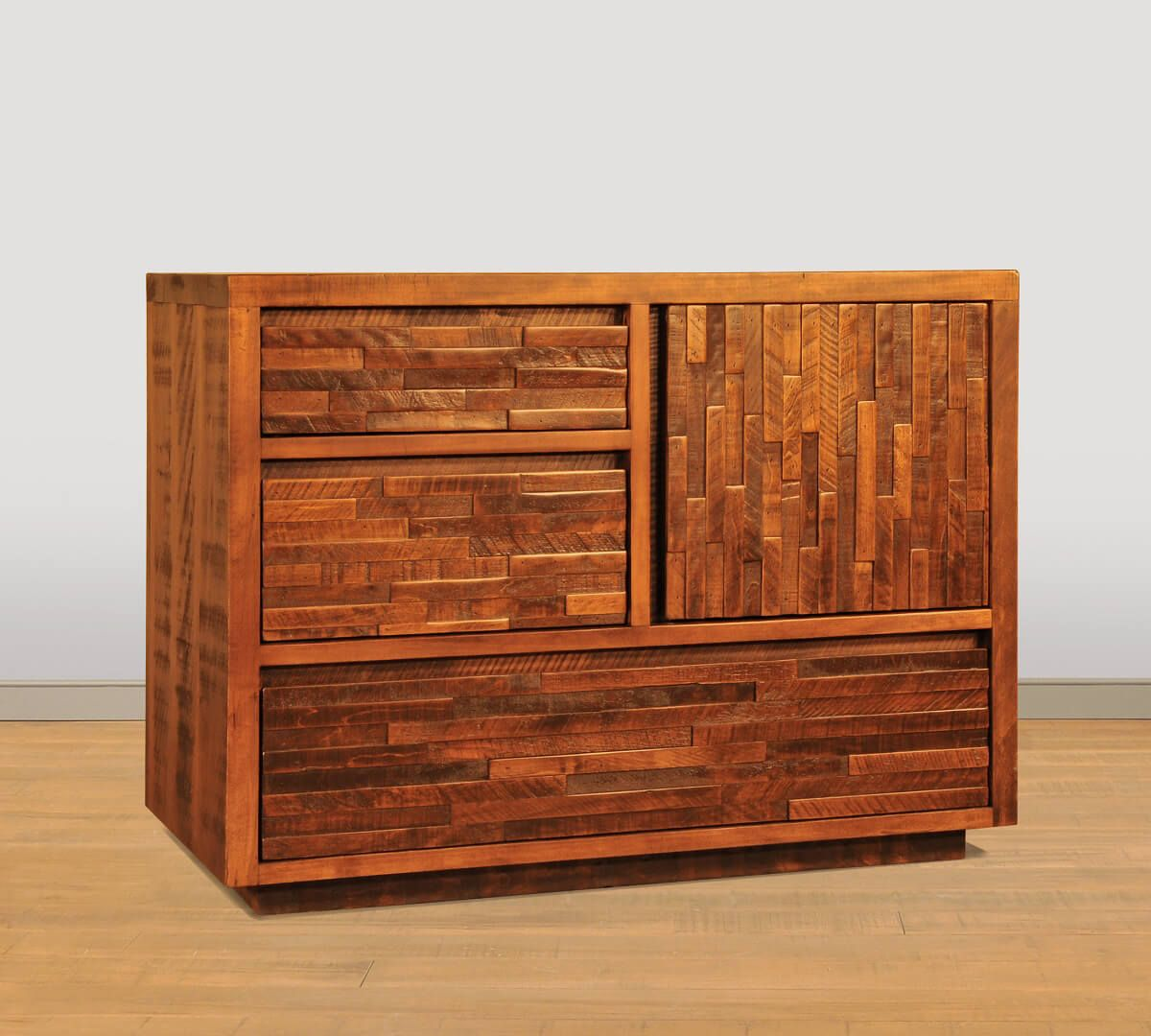 Ansley Park Door Chest in Artisan Copper