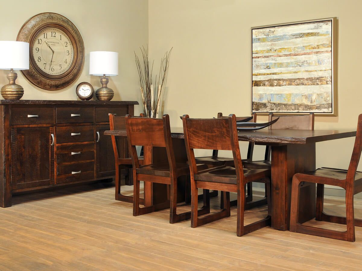 Part of the Arapaho Pass Live Edge Dining Set
