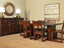 Arapaho Pass Live Edge Dining Set