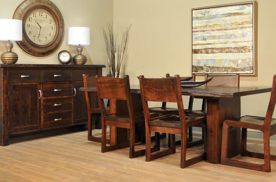 Arapaho Pass Live Edge Dining Set image 1