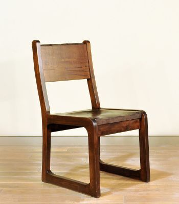 Rustic Maple Live Edge Chair