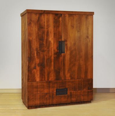 Rough Sawn Maple Armoire