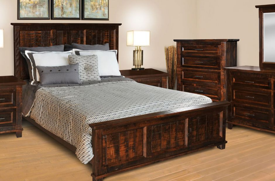 Bear Creek Rustic Bedroom Set Countryside Amish Furniture